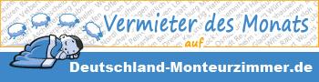 Deutschland-Monteurzimmer.de - Vermieter des Monats