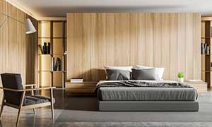 Schlafzimmer in Monteurzimmer