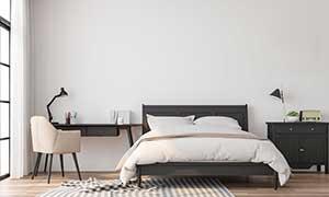 Monteurzimmer mit bequemem Bett