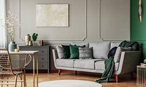 Monteurzimmer mit Wohnzimmer