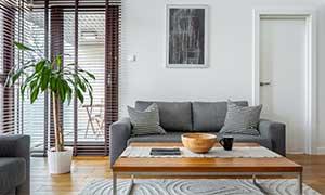 Monteurzimmer mit gemütlichem Wohnzimmer