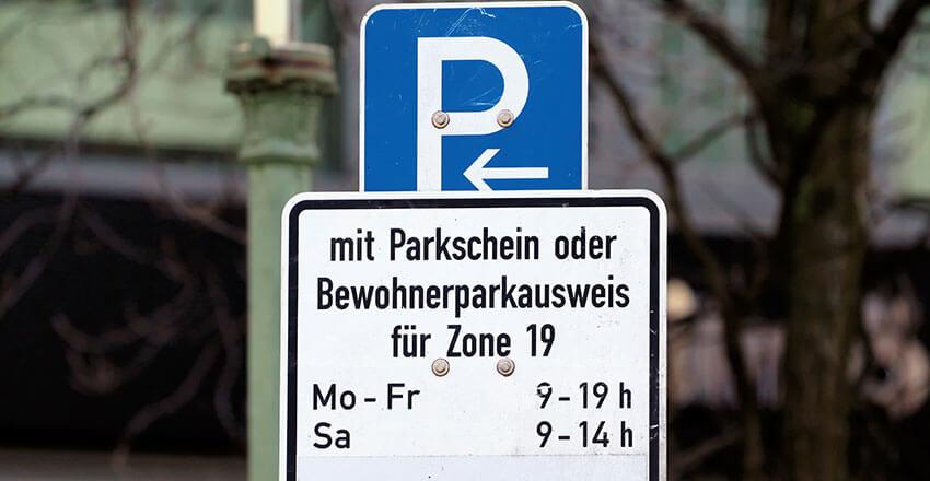 öffentlichen Parkplatz Mieten