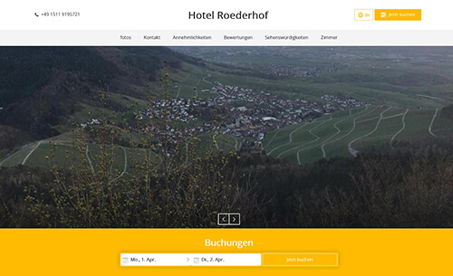 Vermieter-Portrait April 2019 - Hotel Roederhof